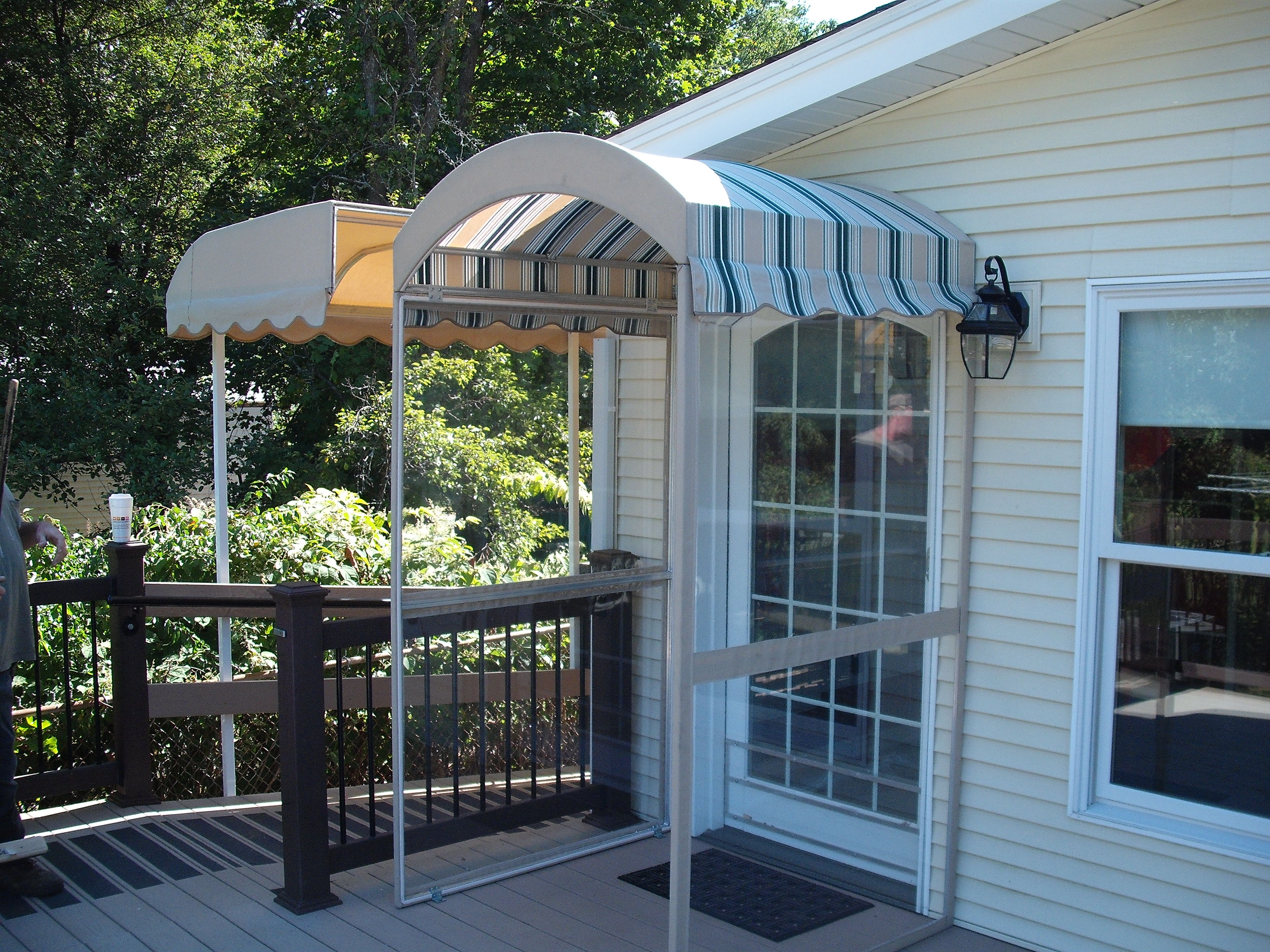 Doorway Canopy Leisure Time Awnings