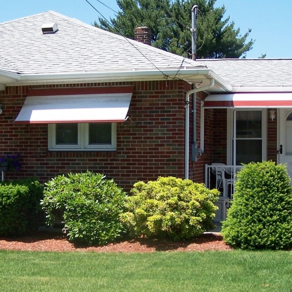 Aluminum Window Roll-Up, Doorway Awnings, & Canopies Gallery